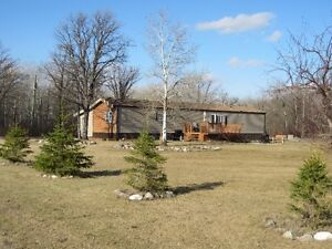 FOR SALE: Mobile Home, Garage and 4 Acres