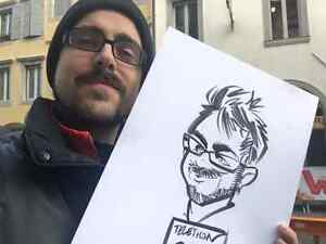 the wedding caricature  West Island Greater Montréal image 9