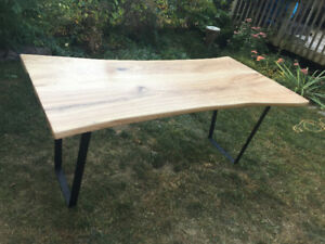 Live Edge / Raw Edge Tables Ash