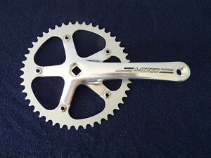 Pedalier  pour fixie / single speed 46t fixed gear crank