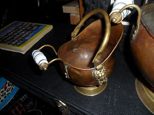 Vintage Copper and brass ,  3 pieces $100 Prince George British Columbia image 4