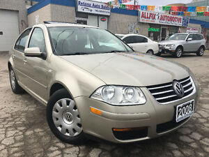 2008 Volkswagen 2.0L _ONE OWNER_ACCIDENT FREE_w/SUNROOF