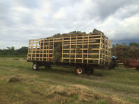 stored hay small square s