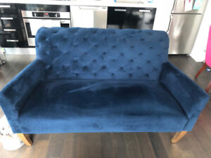 Custom West Elm Sofa (Not sold in Canada) Ink Blue
