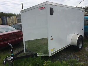 5x10 Haulin Cargo Trailer with 1 -3500 axle Used Once