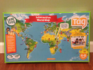 Tag Interactive World Map from Leap Frog