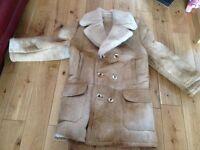 """Sheepskin coat 38"""" chest medium"""
