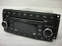 Double din car stereo that plays DVDs