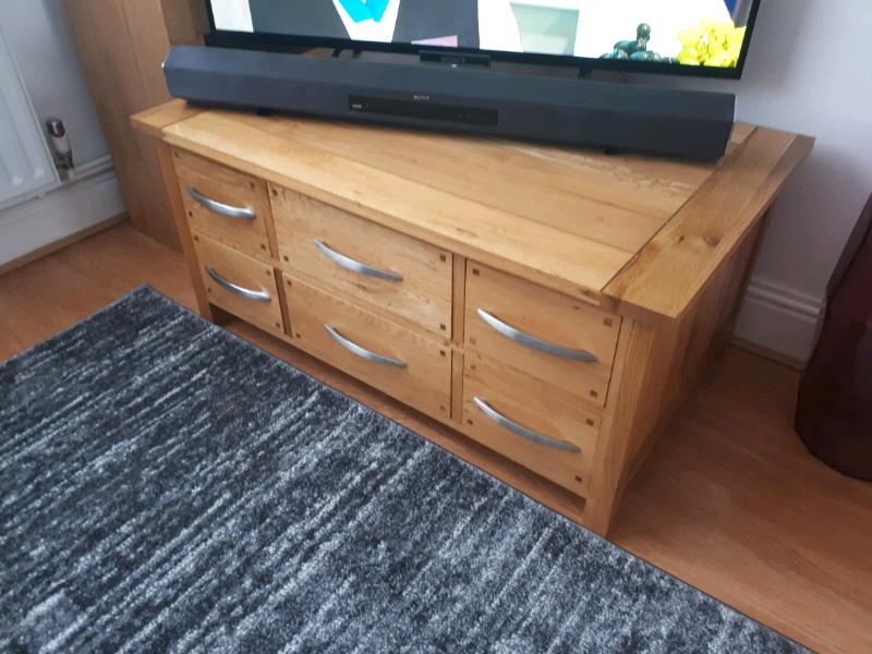 Oak Coffee Table Tv Stand Furniture Village In Sevenoaks Kent Gumtree