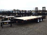 Miska 7 Ton Tandem Axle Deckover Float Trailer