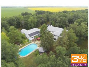 R11//Rosser/Winsaga Woods! Family Acreage ~ by 3% Realty