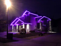 Christmas Lights, Permanent LED Lighting