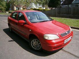 Vauxhall Astra ENVOY 1.4I 16V (red) 2000