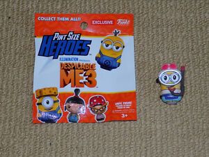 FUNKO, TOURIST JERRY SCUBA MINION PINT SIZE HEROES DESPICABLE ME