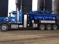 COMBO UNIT AND HYDROVAC OPERATOR