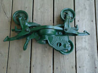 Antique Beatty Bros. Barn Car Hay Trolley
