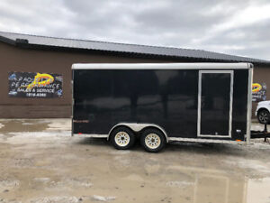 2014 PACE 7X16 ENCLOSED TRAILER,CARGO TRAILER,CONSTRUCTION