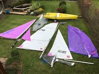 Topper Topaz Sailing Dingy. Sailing Boat. Uno, Uno plus, Duo & Tres Easy to sail fits car roof bars.