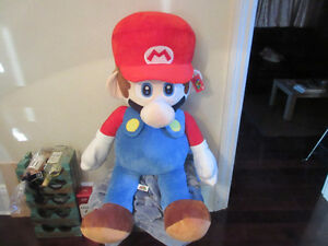 "GIANT MARIO 48"" Plush Stuffed Nintendo Toy Super Mario Bros"