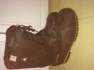 Brand new Baffin technology steel toed leather boots size 11 men