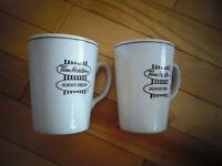 Tim Hortons Coffee Mugs