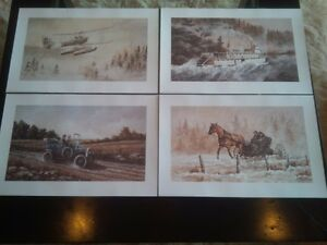 Canadiana Art Limited Edition John Crittenden Portfolio RARE!!