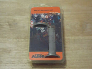 KTM NOS OEM Grip Set Half Waffle Soft Part# 54802021000