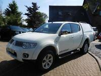 2010 10 Reg Mitsubishi L200 2.5DI-D Warrior Long Bed Double cab No VAT
