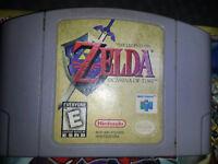 ZELDA NINTENDO 64  N64 GAME