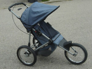 "16"" AIR WHEELS INSTEP JOGGER STROLLER FIRST COME $75.00 FIRM!"