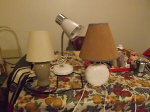 different styles of lamps