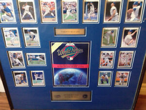 Very rare. Special edition jays 1992 World Series