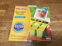 Brand New Nuby Freezer Tray