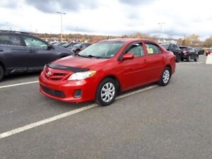 2013 Toyota Corolla LE (one owner bought local dealer)