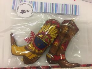 Horse riding enthusiasts- cowboy boot  sachets