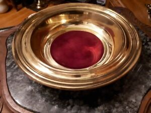 Brass Church collection plates $25 each