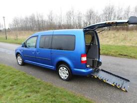 2009 59 Volkswagen Caddy Maxi Life 1.9 Tdi 7seats WHEELCHAIR ACCESSIBLE VEHICLE