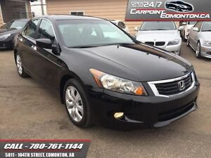 2010 Honda Accord Sedan EX-L LOADED ONLY 50267 KMS !!! MINT!!!