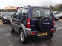 2009 SUZUKI JIMNY 1.3 VVT JLX + 3dr SUV 5 Seats