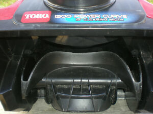 Toro 15-Inch Electric 1500 Power 12-Amp Curve Snow Blower Peterborough Peterborough Area image 4
