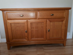 Contemporary Oak Buffet