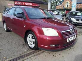 TOYOTA AVENSIS T3-X D-4D, Red, Manual, Diesel, 2004