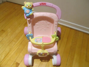 Fisher Price Marcheur Poussette.