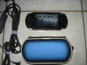 PSP 1000 w/Charger,Case & Over 2000 Games!