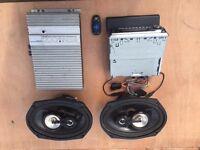 Stereo,Amp &Speakers