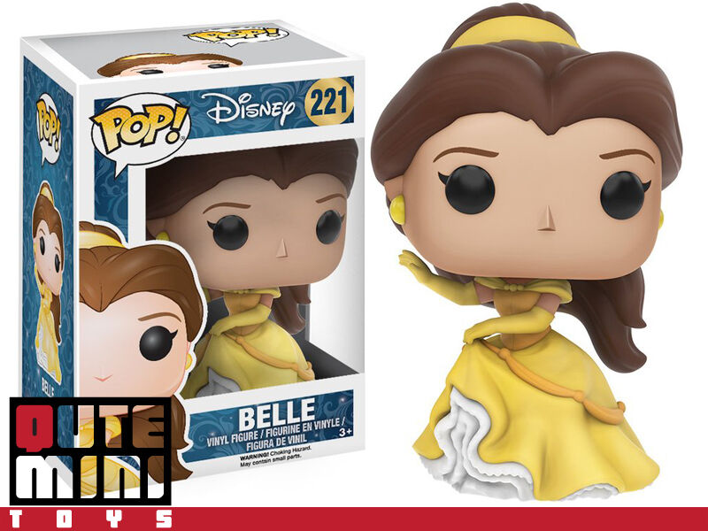 FUNKO POP DISNEY NEW PRINCESS BEAUTY AND THE BEAST BELLE FIG