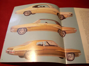 1970 Pontiac GTO sales brochure Peterborough Peterborough Area image 4