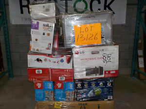 Lot #13126 - 31 units of Housewares from Wal Mart - MSRP 3927$