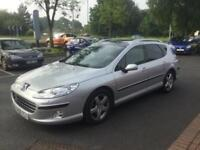 Peugeot 407 SW 2.0HDi AUTOMATIC Executive**ESTATE**LOW MILES**1 OWNER**FSH**