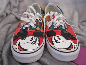 Limited edition Disney Vans running shoes